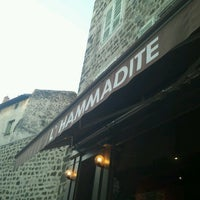Photo taken at L'Hammadite Café by William B. on 7/31/2013