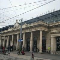 Photo taken at Gare SNCF de Montpellier Saint-Roch by William B. on 11/21/2012