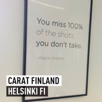 Photo taken at Carat Finland by Timo R. on 8/20/2013