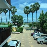 Photo taken at Chheoun Park Kap Hotel by สันติธร ย. on 11/10/2016