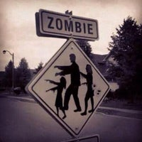 "Photo taken at Zombie Crossing ""Greenway"" by William F. on 7/16/2014"