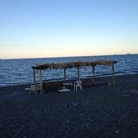 Photo taken at Psaropouli beach by Giannis R. on 9/14/2013
