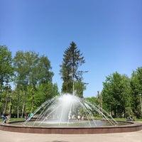 Photo taken at Фонтан в парку Шевченка by Stepan 🙄 on 5/6/2017