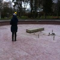 Photo taken at Фонтан в парку Шевченка by Stepan 🙄 on 12/2/2012
