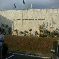 Photo taken at Prefeitura Municipal de Manaus by paulo j. on 9/20/2012
