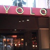 Photo taken at YOLO by J F. on 4/21/2013