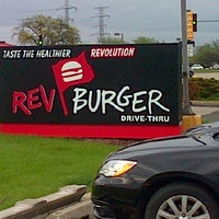 Photo taken at Rev Burger by Emlyn T. on 5/14/2014