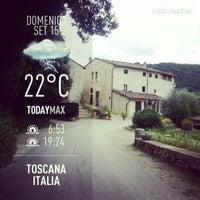Photo taken at Fattoria Castiglionchio by Serena T. on 9/15/2013