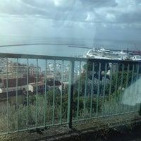 Photo taken at Porto di Salerno by Vitaliy on 11/6/2012