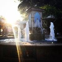 Photo taken at Winter Garden Village Fountain by Michelle C. on 9/23/2016