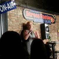 Photo taken at Stress Factory Comedy Club by JRSIV on 8/26/2013