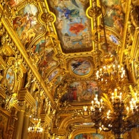 Photo taken at Garnier Opera by Antoine L. on 2/28/2013