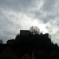 Photo taken at Burg Pottenstein by Taxi Micha on 11/1/2012