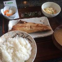 Photo taken at 季節料理 くら井 by Toru H. on 2/23/2015