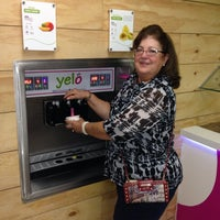 Photo taken at Yelo Frozen Yogurt by Johnny P. on 10/19/2013