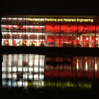 Photo taken at Faculty Mechanical, Maritime & Material Engineering by Hessel V. on 12/4/2012
