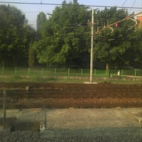 Photo taken at Stazione Novate Milanese by Jessica C. on 9/18/2012