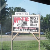 Photo taken at Mike's Truck &Trailer Repair by Charles S. on 7/29/2013
