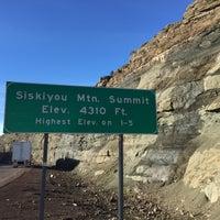 Photo taken at Siskiyou Summit by Daniel B. on 1/6/2015