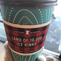 Photo taken at Caribou Coffee by Jill H. on 2/25/2018