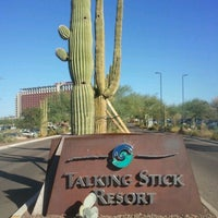 Photo taken at Casino Arizona at Talking Stick by Uchenna O. on 10/29/2012