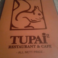 Photo taken at Tupai-Tupai Restaurant & Cafe by Mohd B. on 12/29/2012