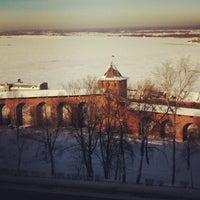 Снимок сделан в Нижегородский кремль пользователем Constantine M. 1/28/2013