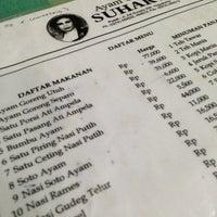 Photo taken at Ayam Goreng Suharti by Mario P. on 1/24/2013