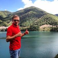 Photo taken at Aragvi Adventure Camp by Mokriy M. on 9/12/2013