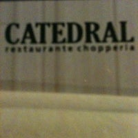 Photo taken at Catedral Restaurante Chopperia by Dough T. on 2/17/2013
