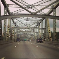 Photo taken at Brent Spence Bridge by Stephen H. on 4/28/2013