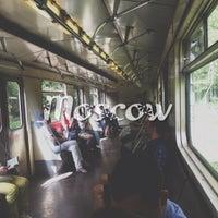 Photo taken at metro Fili by Aliona F. on 6/14/2013