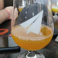 Photo taken at Black Project Spontaneous & Wild Ales by Robert W. on 10/6/2017