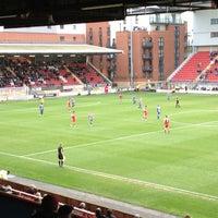 Photo prise au Matchroom Stadium par Andrew B. le11/10/2012