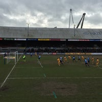 Photo taken at Rodney Parade by Andrew B. on 3/4/2017
