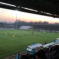 Photo taken at Southport FC by Andrew B. on 11/26/2016