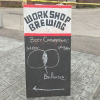 Photo taken at The Workshop Brewing Company by Mark P. on 7/9/2017