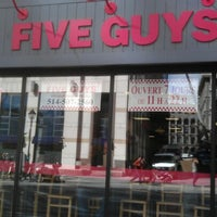 Photo taken at Five Guys by Dominic N. on 9/27/2012