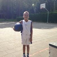 Photo taken at Speelplein Valkaart by Tycho P. on 6/14/2014
