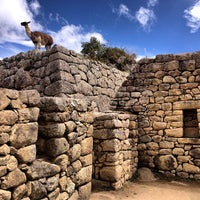 Photo taken at Templo de las Tres Ventanas by Ar T. on 5/2/2013