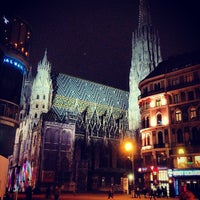 Снимок сделан в Stephansplatz пользователем Ar T. 3/1/2013