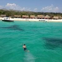 Photo taken at Playa Blanca by Charles T. on 5/26/2013