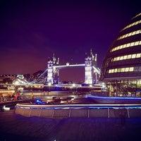 Photo taken at 3 More London Riverside by Kritt N. on 10/30/2016