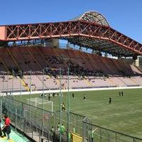 Photo taken at Stadio Nereo Rocco by Mirko V. on 4/14/2013