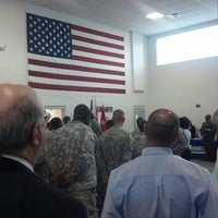 Photo taken at Florida Army National Guard Armory by Leonardo S. on 10/6/2012