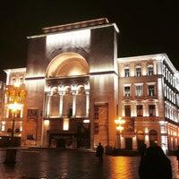 Photo taken at Teatrul Național Timișoara by Massimo B. on 1/25/2015
