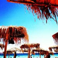 Photo taken at Golden Beach by Argyro Doum 🎀👑💄 on 6/23/2013