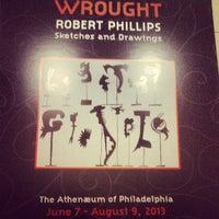 Photo taken at Athenaeum of Philadelphia by Liam O. on 6/7/2013