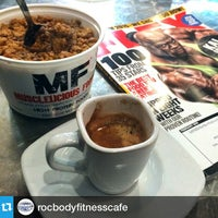 Photo taken at Rocbody Fitness Cafe by Cipriano P. on 1/24/2015