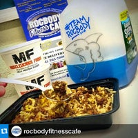 Photo taken at Rocbody Fitness Cafe by Cipriano P. on 3/24/2015